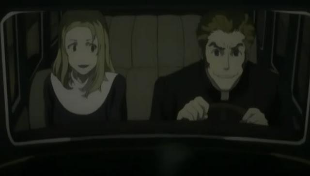 Isaac and Miria in car
